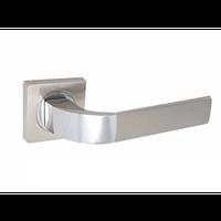 Ручка дверная KEDR R08.170 (SN/CP Сатин/Хром)