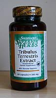 Трибулус, бустер тестостерона Swanson Tribulus Terrestris Extract 500mg - 60cap