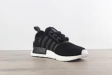 """Кроссовки Adidas NMD R1 Runner PK """"Черные\Белые"""", фото 2"""