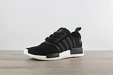 """Кроссовки Adidas NMD R1 Runner PK """"Черные\Белые"""", фото 3"""