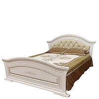 """Кровать двуспальная 1.6 с мягким изголовьем """"Николь"""" , фото 1"""