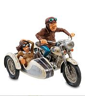 "Коллекционная статуэтка Мотоцикл с коляской ""The Sidecar Tour. Forchino"" FO-85087"
