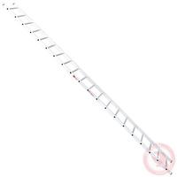 Лестница алюминиевая приставная 20 ступеней 5,64 м INTERTOOL LT-0120