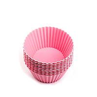 Силиконовая форма для кексов Con Brio CB-674 Pink