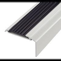 Алюминиевый профиль,порог арт. 199 46х16 мм серебро