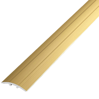 Алюминиевый профиль,порог арт. 200 33х9х2700 мм  золото