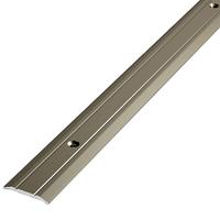 Алюминиевый профиль,порог арт. 203 20х2,7х1800 мм серебро