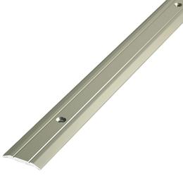 Алюминиевый профиль,порог арт. 240 24х3х1800 мм серебро