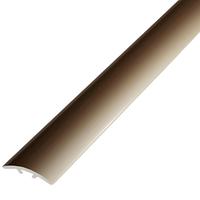 Алюминиевый профиль,порог арт. 390 39х4,5х1800 мм бронза