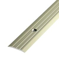 Алюминиевый профиль,порог арт. 402 40х3 мм серебро