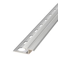 Алюминиевый профиль,порог арт. 610 10,5х22х2500 мм серебро