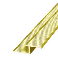 Алюминиевый профиль,порог арт. 615 39х12 мм золото