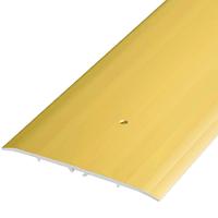 Алюминиевый профиль,порог арт. 800(П21) 79х5,5х1800 мм золото