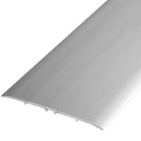 Алюминиевый профиль,порог арт. 800(П21) 79х5,5х1800 мм серебро