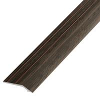 Ламинированный профиль,порог арт.П-1 (226) 30х5 мм венге