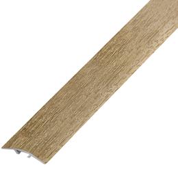 Ламинированный профиль,порог арт.П-10 (390) 40х3 мм дуб мокко