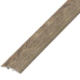 Ламинированный профиль,порог арт.П-10 (390) 40х3 мм дуб капучино