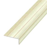 Ламинированный профиль,порог арт.П-2 (316) 25х10 мм ясень светлый