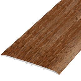 Ламинированный профиль,порог арт.П-21 80х5,5 мм орех лесной