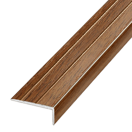 Ламинированный профиль,порог  арт.П-3 (324) 25х20 мм орех лесной