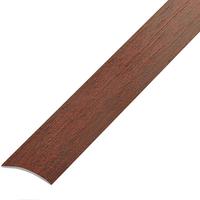 Ламинированный профиль.порог арт.П-4 (202) 20х3 мм махагон