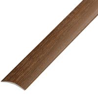 Ламинированный профиль ,порог арт.П-4 (202) 20х3 мм каштан