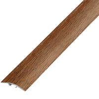 Ламинированный профиль,порог  арт.П-5 (100) 28х5,4 мм орех лесной
