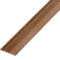 Ламинированный профиль,порог арт.П-6 (227) 28х3 мм орех лесной