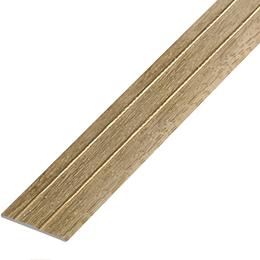 Ламинированный профиль ,порог арт.П-6 (227) 28х3 мм дуб мокко