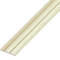 Ламинированный профиль,порог арт.П-6 (227) 28х3 мм ясень светлый