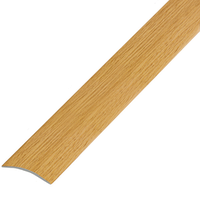 Ламинированный профиль,порог арт.П-7 25х3 мм дуб
