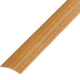Ламинированный профиль,порог арт.П-7 25х3 мм ольха
