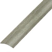 Ламинированный профиль,порог арт.П-9 (280) 30х5 мм дуб пепельный