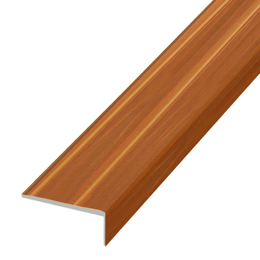 Окрашенный профиль,порог арт.О-316 23,5х9 мм вишня