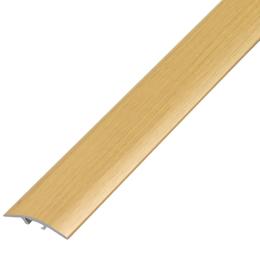 Окрашенный профиль,порог арт.О-390 39х5,4 мм дуб светлый