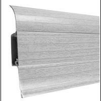 Плинтус напольный Ideal 55mm (ясень серый 253)