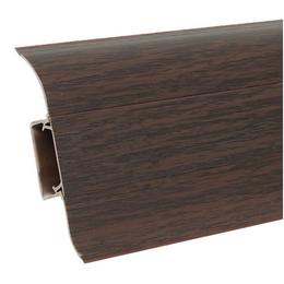 Плинтус напольный Ideal 55mm (каштан 351)