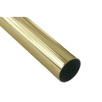 Карниз труба гладка 25мм 2 метри (Антик, Сатин, Золото, Хром, Онікс) 2 метра