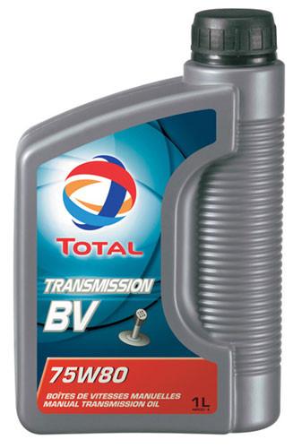 Масло трансмиссионное Total Transmission BV 75W80 1L