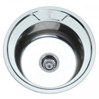 Кухонная мойка врезная ZERIX Z490-08-180E SATIN