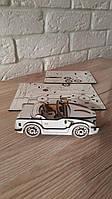 Деревянный конструктор 3D пазл Машина BMW