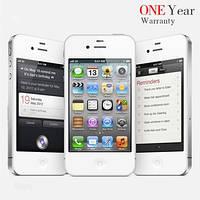 "Оригинальный Apple iPhone 4 разблокирован 16 ГБ IOS 7 3.5 "" IPS 5.0MP NFC 3 г WCDMA WIFI GPS"