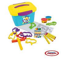 Набор для творчества PLAY-DOH - АРТ-КЕЙС (маркеры, восковые карандаши, масса для лепки, аксес.)