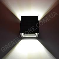Настенный гипсовый светильник, бра Gypsum Line - Norwich S1807 B BK (чёрный, накладной) под лампу G9