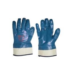 """Перчатки SG - 005 """"Нитриловые синие МБС""""  твердый манжет"""