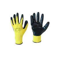 """Перчатки SG - 022 """"Стрейч нитриловые"""" желтые"""