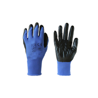 "Перчатки SG - 026 ""Зебра"" синие"