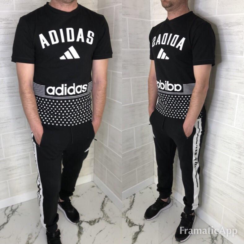 f564e835 Мужской спортивный костюм Adidas реплика,мужские костюмы - Интернет- магазин