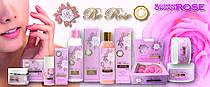 Косметическая серия Be Rose с натуральным розовым маслом, маслом из шиповника, мочевиной и натуральной розовой водой. Косметическая линия с 15 продуктами для кожи лица, кожи тела и волос. Масло для тела, маска для волос, вода из мицелара и питательны