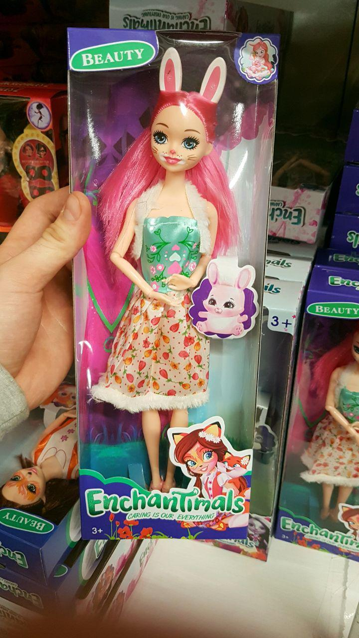 Кукла шарнирная Энчантималс куколка с нарядами Enchantimals K050